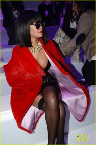 Christian Dior : Front Row - Paris Fashion Week Womenswear Fall/Winter 2014-2015