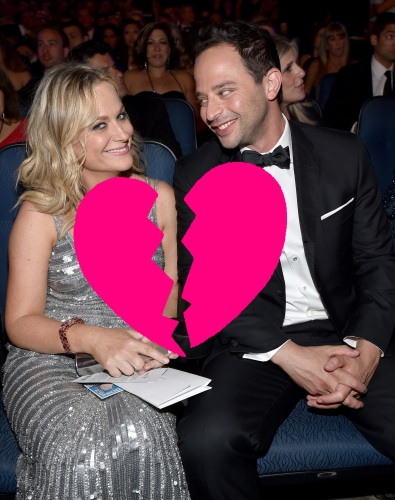 Funny-couple-Amy-Poehler-Nick-Kroll-sat-together-audience