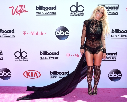 LAS VEGAS, NV - MAY 22: Singer Britney Spears attends the 2016 Billboard Music Awards at T-Mobile Arena on May 22, 2016 in Las Vegas, Nevada. (Photo by John Shearer/Getty Images)