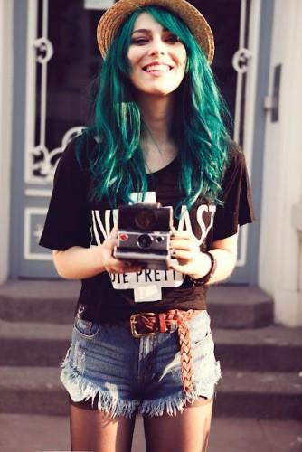 cabelo-verde